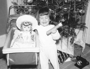Hiding My Thumb, circa 1952